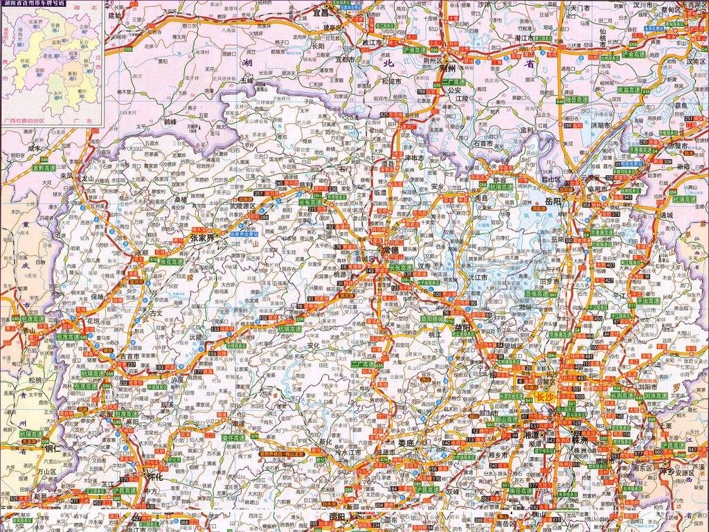 交通                                  湖南省地图中国地图世界地图