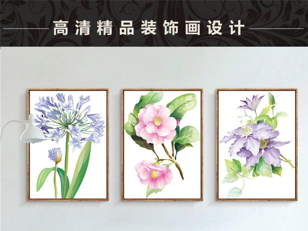 唯美手绘现代客厅十字绣纹绣绣宫廷十字绣蓝绣球花