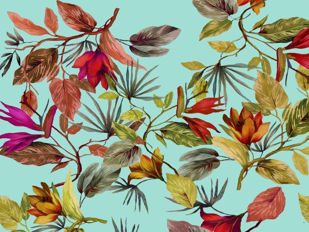 植物水彩花卉底纹手绘水彩花卉花卉水彩水彩花卉图片