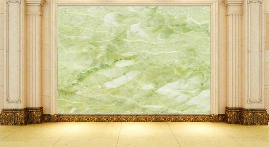 清新大气欧式大理石花岗岩电视背景墙