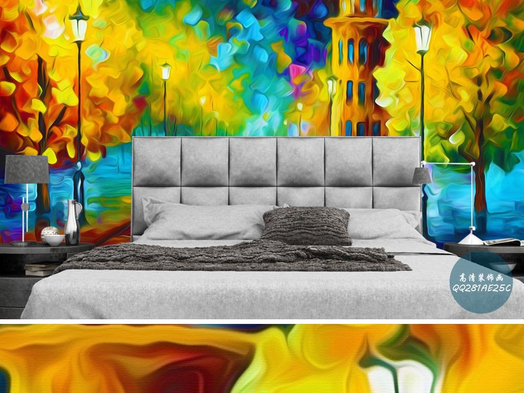 客厅透视图手绘色彩