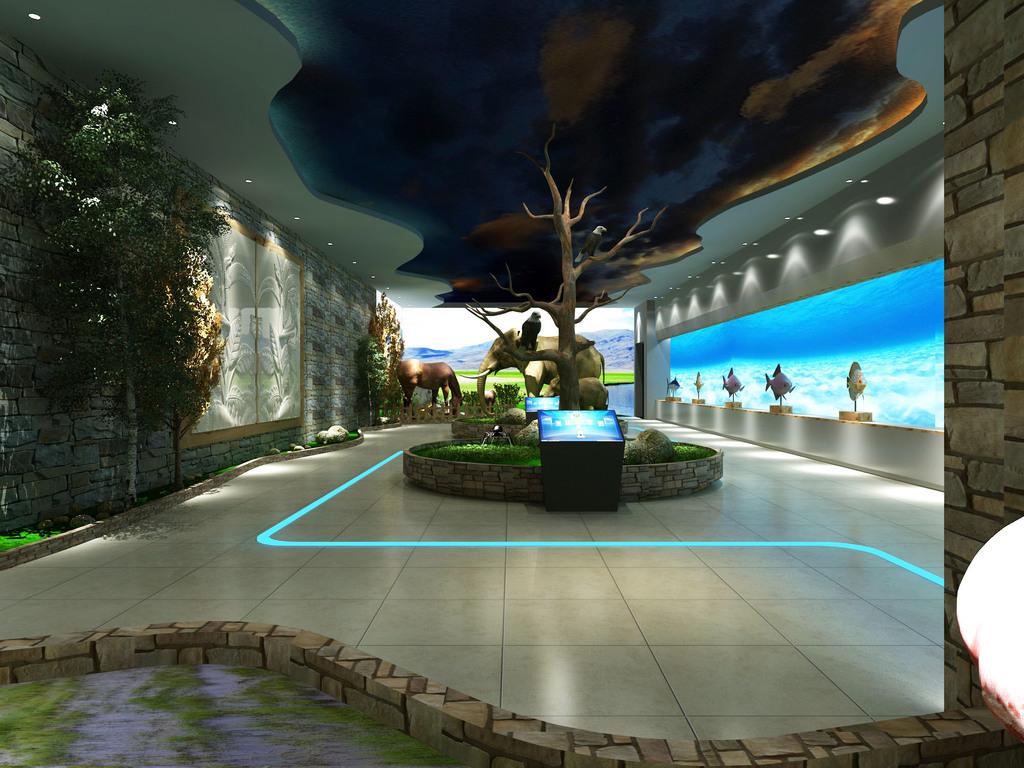 自然博物馆自然展厅动物植物展厅