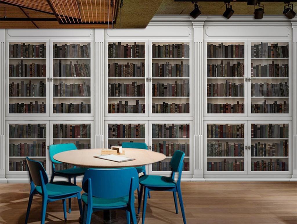 图书图书馆书架