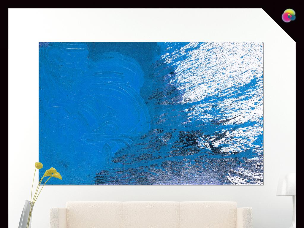 手绘涂鸦新抽象主义绘画欧式现代室内装饰画