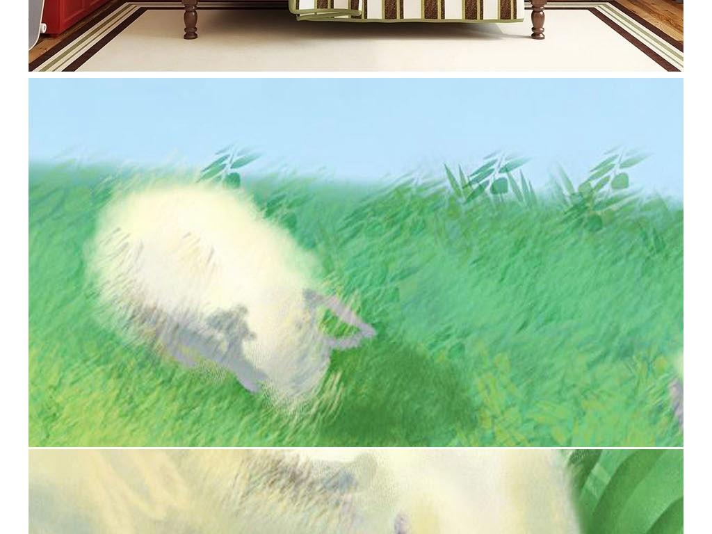 卧室 女孩 幼儿园壁画 卡通 漫画 游乐园 游乐场 少儿早教中心 托儿所 托管 婴幼儿 墙纸 壁纸 墙画 墙壁 草原 放牧 卡通背景 蓝天白云草地 可爱 蓝天 蓝天草地 可爱卡通 儿童背景 儿童卡通 卡通儿童 白云