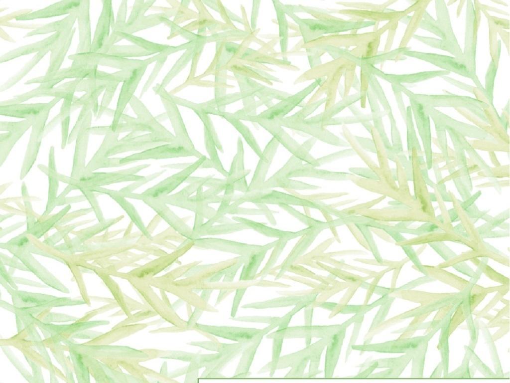 绿色清新手绘叶子矢量背景(图片编号:16001702)