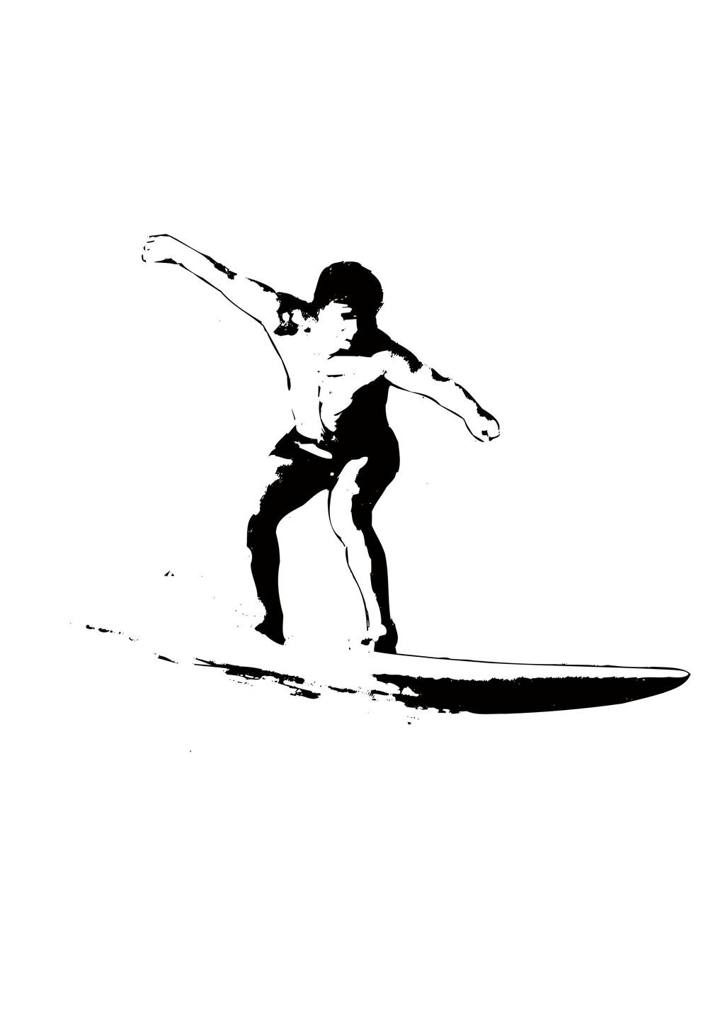 运动人物简笔画滑冰人物剪影男人