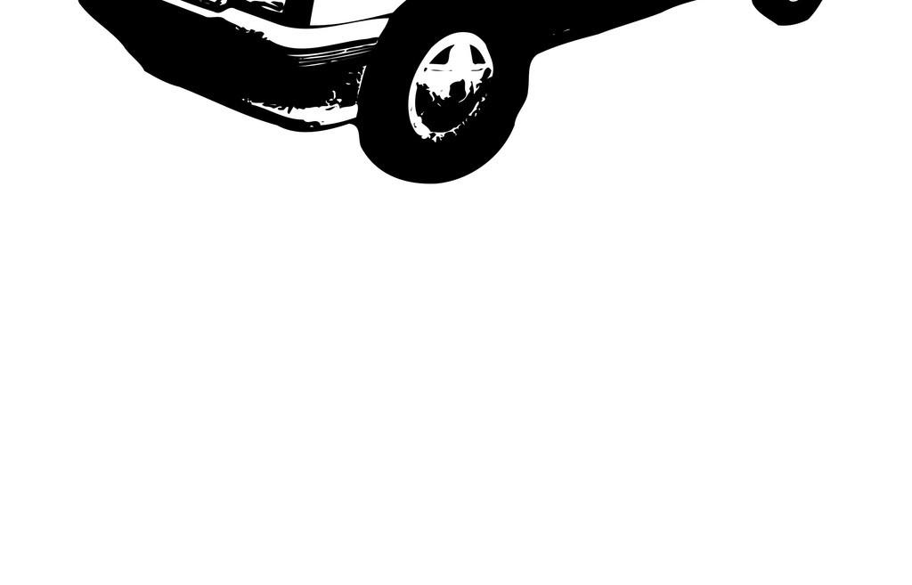 交通工具汽车简笔画卡车轿车生活元素