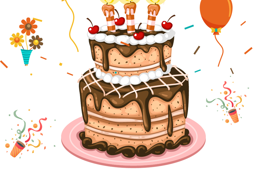 西餐海报下午茶海报生日海报唯美手绘蛋糕