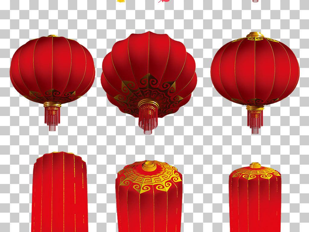 psd)中国风灯笼ps古风灯笼                                  中国结