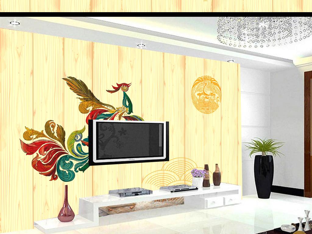电视背景墙 现代简约电视背景墙