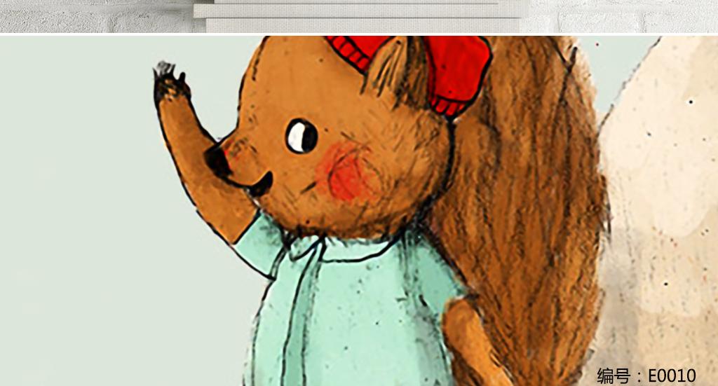 卡通儿童房装饰画