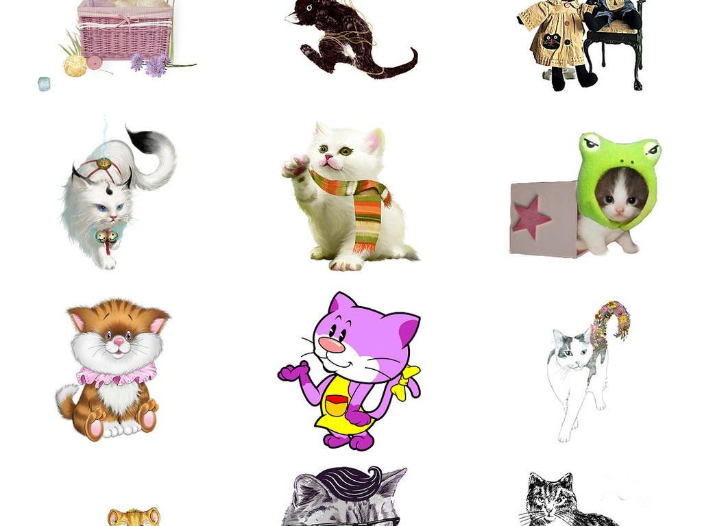 我图网提供精品流行可爱小猫咪免抠PNG透明图片素材下载,作品模板源文件可以编辑替换,设计作品简介: 可爱小猫咪免抠PNG透明图片素材 矢量图, RGB格式高清大图,使用软件为 Photoshop CC(.png) 可爱小猫咪 免抠PNG