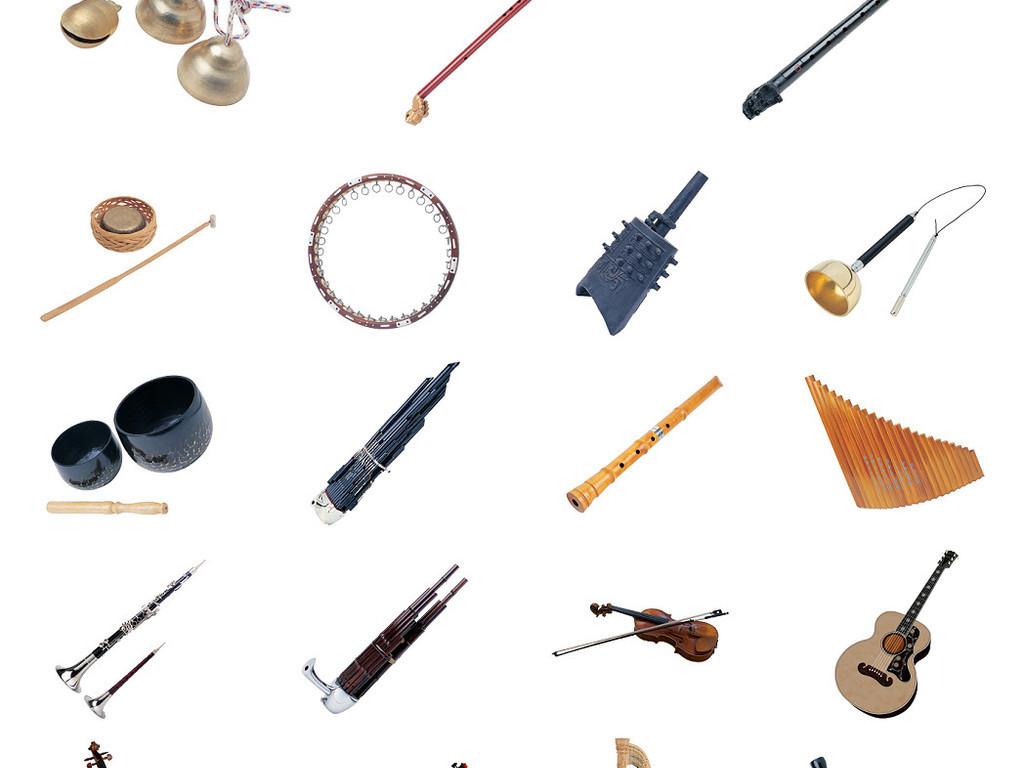 中国民族乐器免抠PNG透明素材图片图片下载png素材 其他