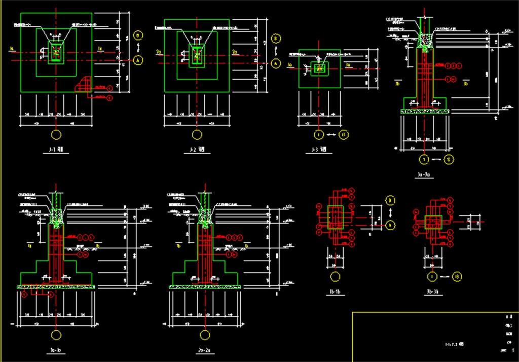 轻钢结构厂房仓库cad全套结构图