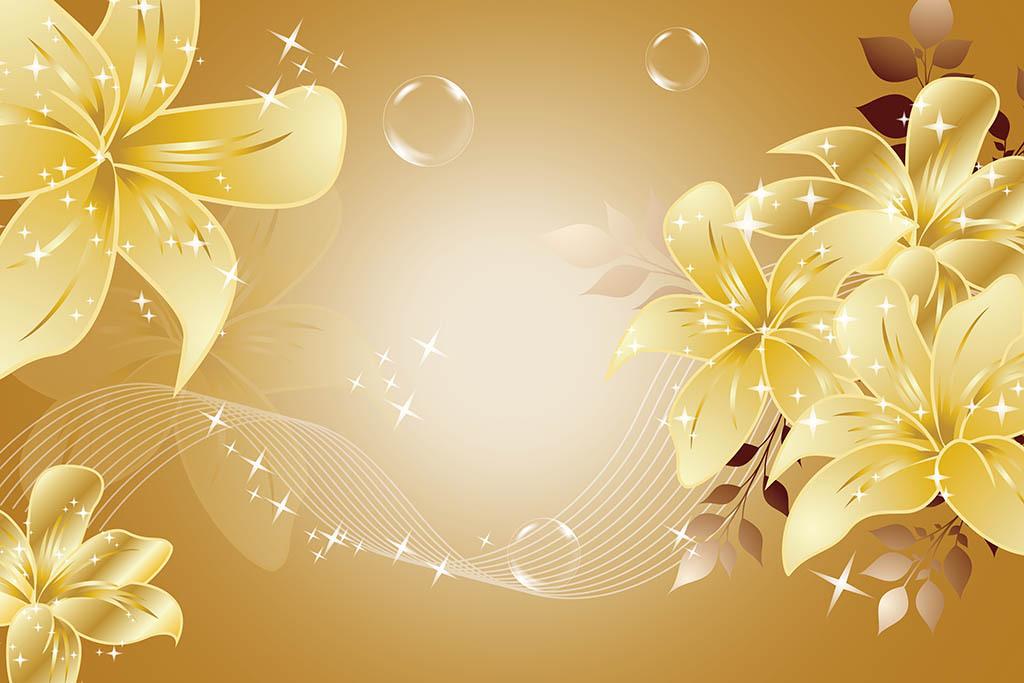 2017-01-02 16:52:22 我图网提供精品流行透明花朵背景墙素材下载