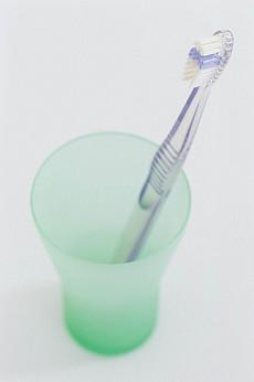 现代生活物品素材静物牙刷