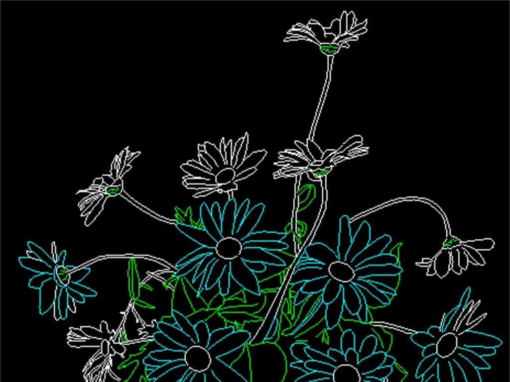 cad图库 室内设计cad图库 cad图纸 > 园林植物花卉cad图块