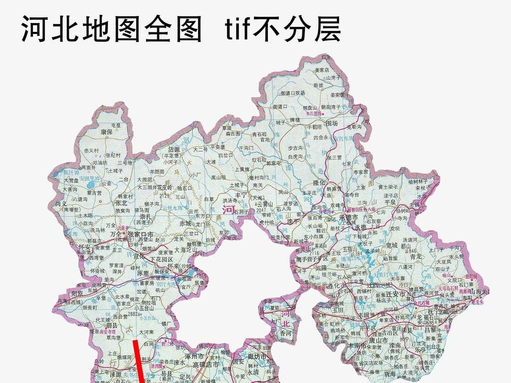 河北地图(图片编号:16023072)_河北地图_我图网