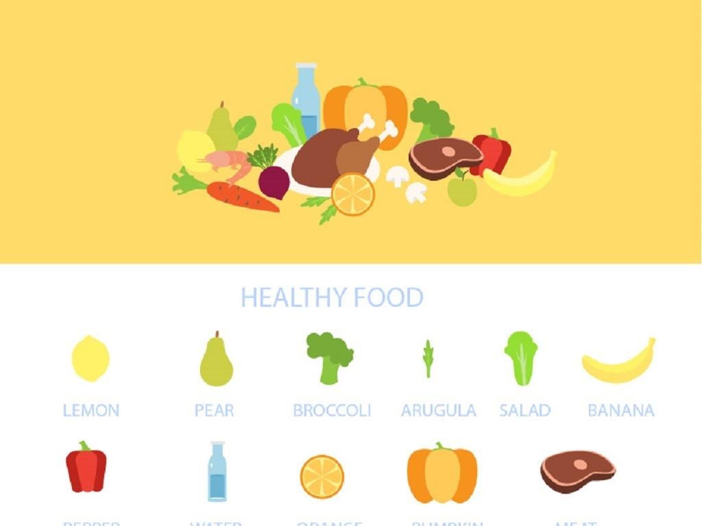 健康食物水果蔬菜蔬菜包装蔬菜大全卡通蔬菜水果图片