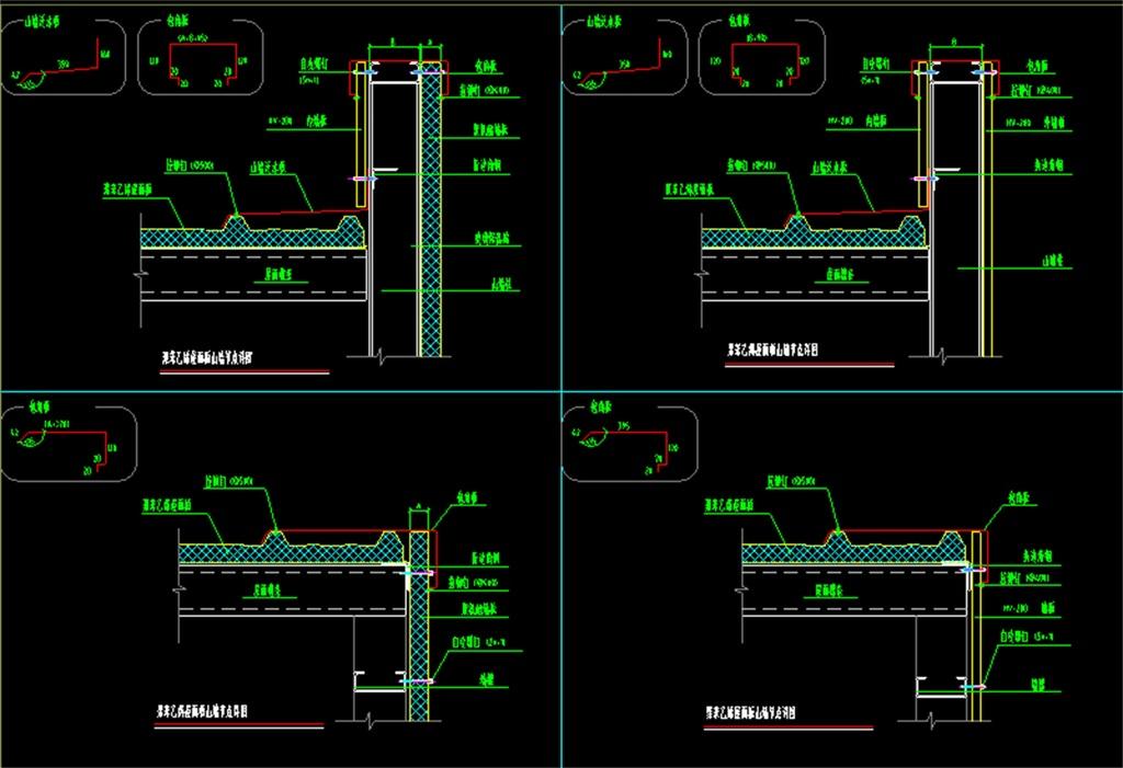 节点图库钢结构建筑结构cad图建筑图集施工图建筑结构cad房屋建筑图ca