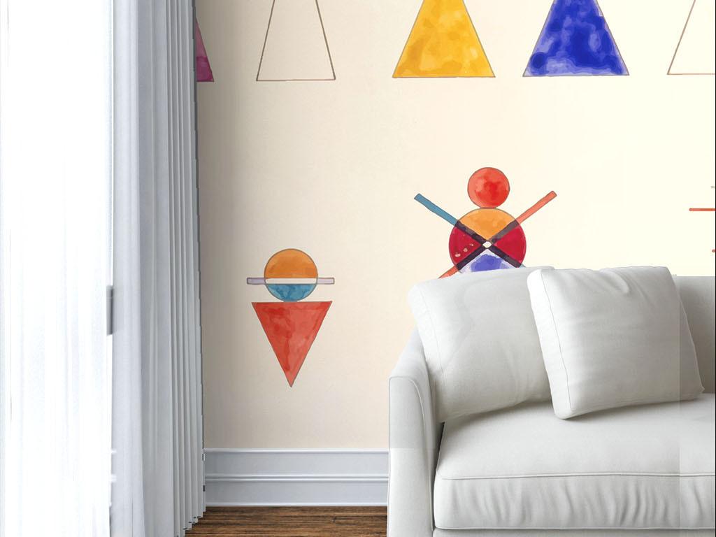 壁纸室内效果图室内装饰室内设计展板个性手绘简约简约手绘室内设计室