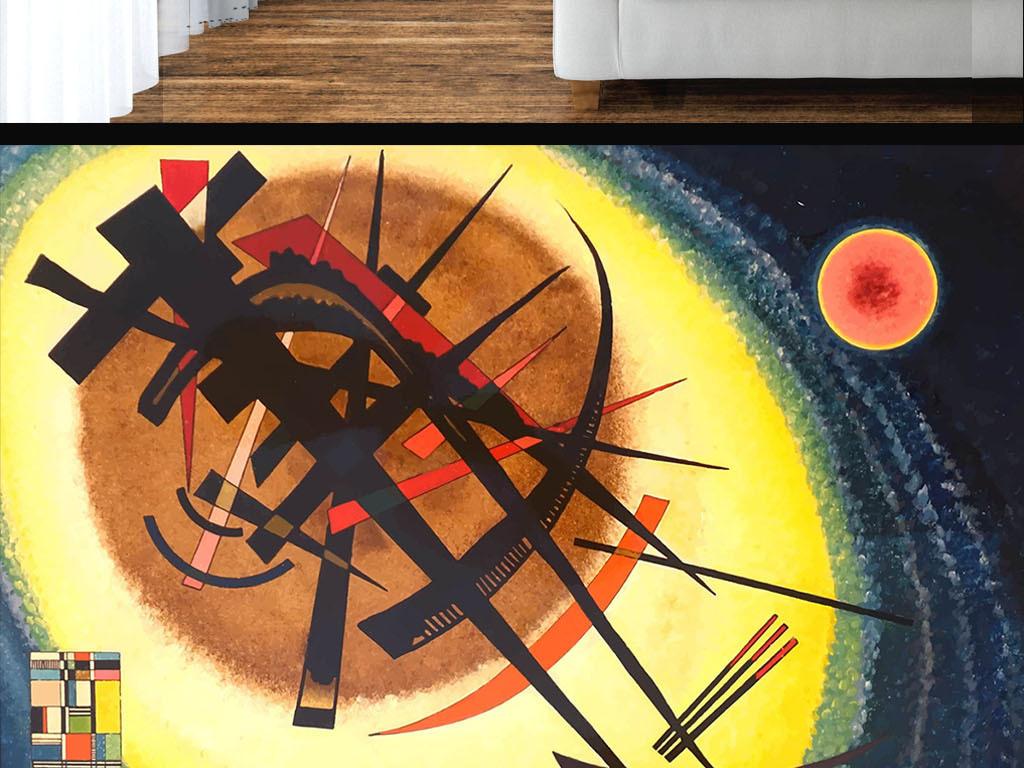 现代手绘涂鸦墙纸