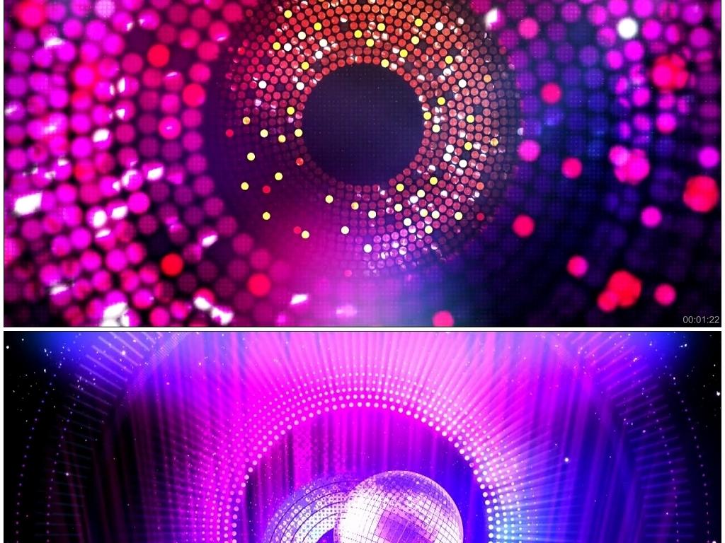 炫酷动感舞台led背景视频素材图片