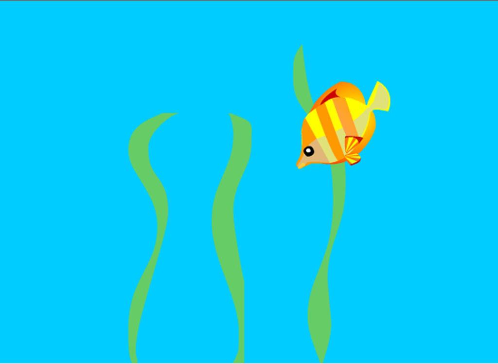 图标|ui设计 电脑软件界面 其他 > flash动画素材海底的鱼  版权图片