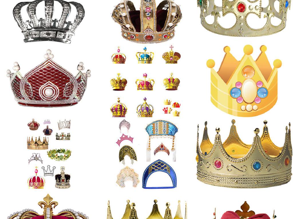 王冠素材皇冠素材免抠png透明图片