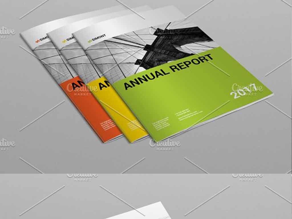 2017企业年度报告宣传画册模板