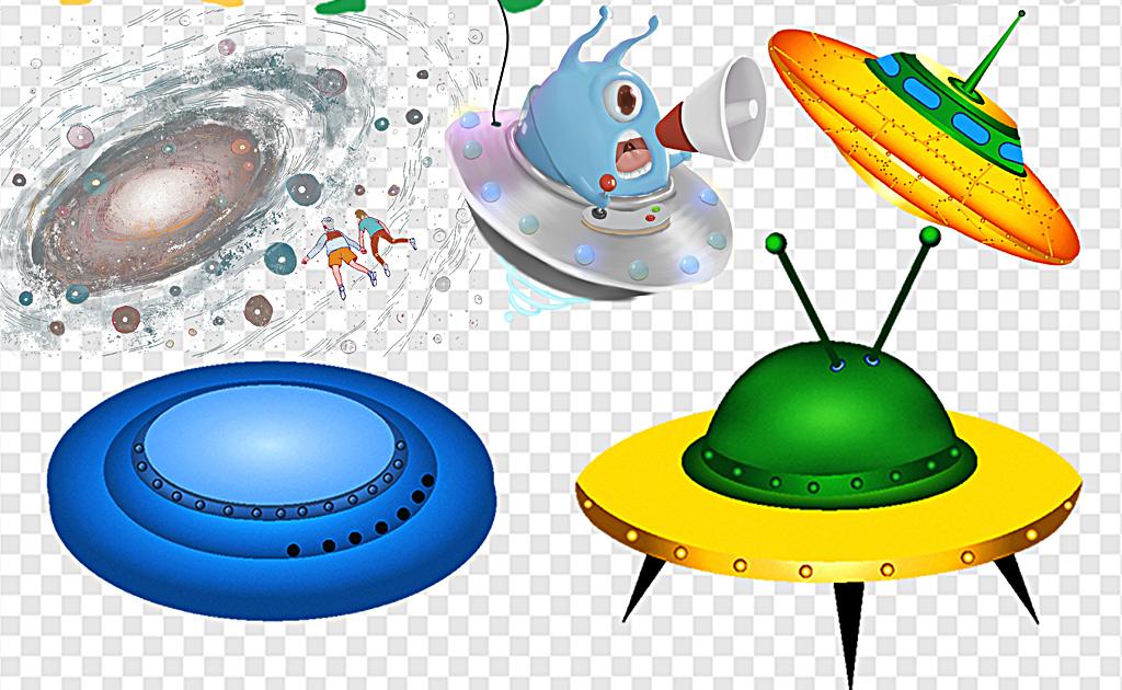 UFO外星飞船飞碟科技外星飞碟图片下载png素材 其他
