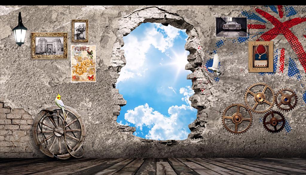 3d电视背景墙艺术玻璃电视背景墙中式背景墙手绘背景墙玉雕背景墙电视