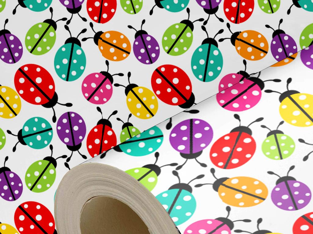 七星瓢虫墙纸壁纸