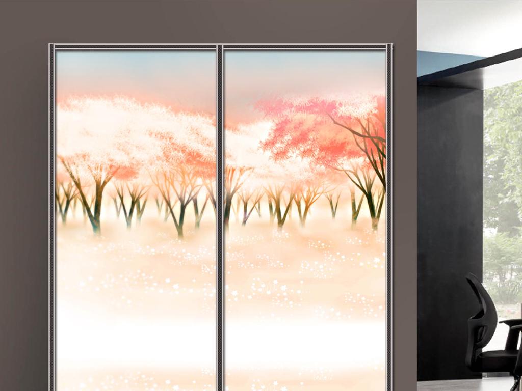 衣柜图片打印背景欧洲油画人物油画油画风景手绘油画