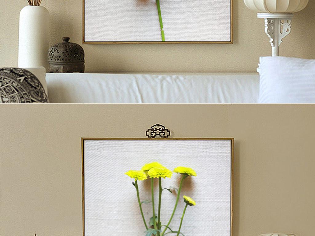 3d立体手绘花朵