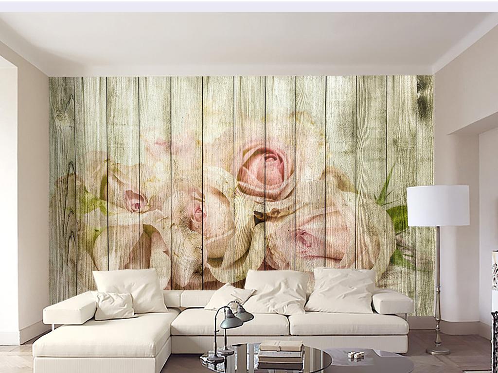 木板背景电视复古底纹复古背景欧美复古复古素材欧式