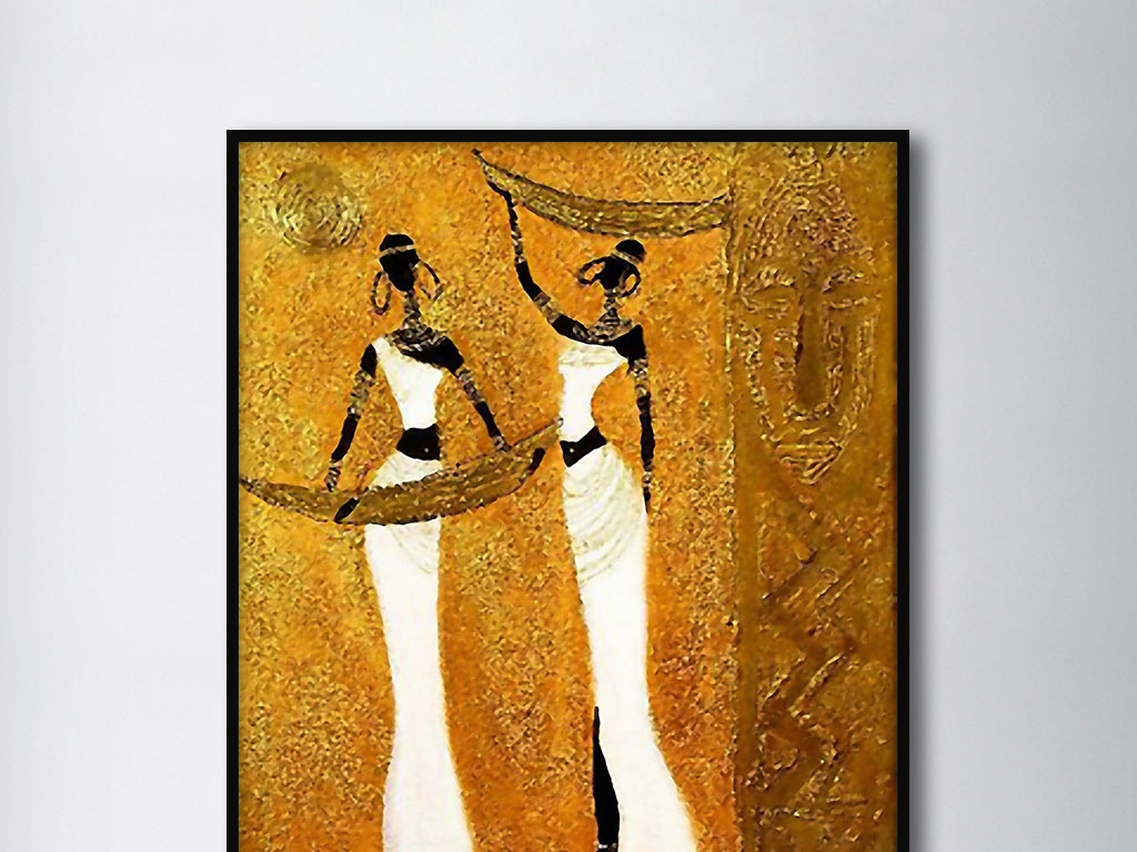巴洛克                                  艺术手绘水彩画