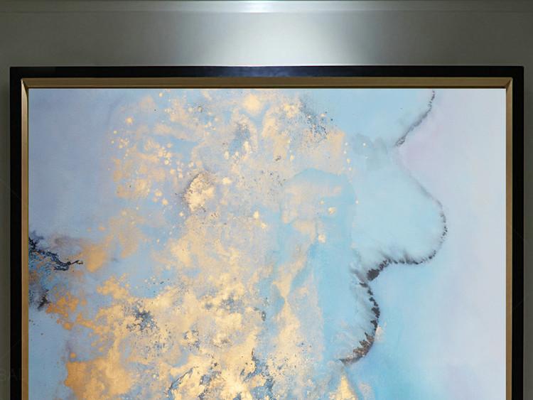 高清立体抽象油画艺术玄关(二百七十二)