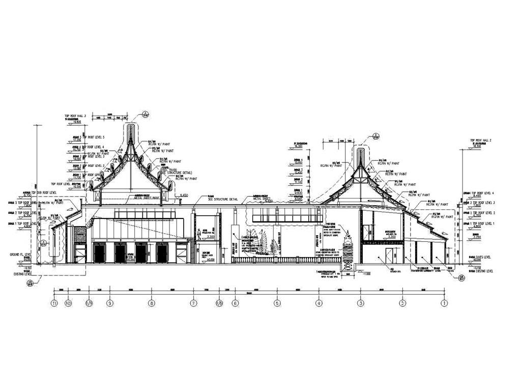 博物馆cad设计图