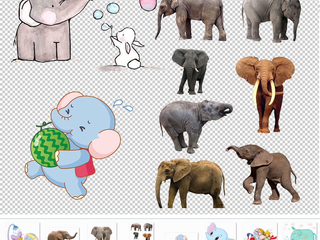 陆地动物动物插画动物造型动物园设计元素ps海报素材我图网图库卡通小