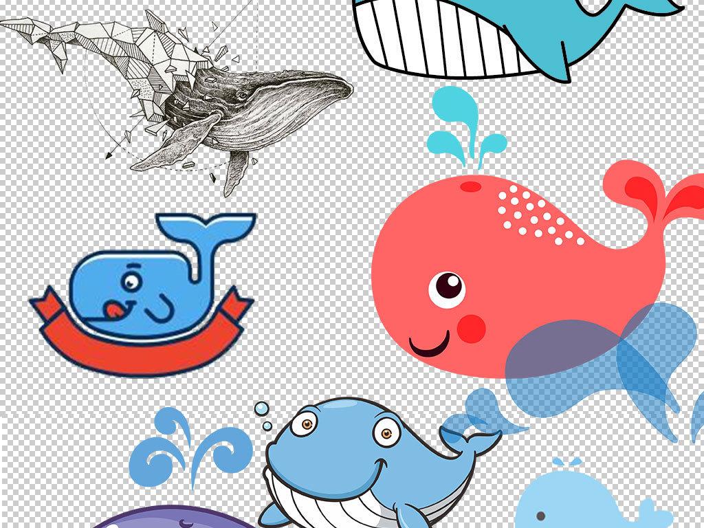 设计元素 自然素材 动物 > 卡通鲸鱼动物图片海报素材  卡通鲸鱼动物