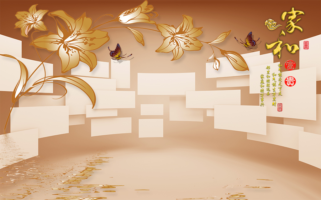 枫叶手绘 复古唯美