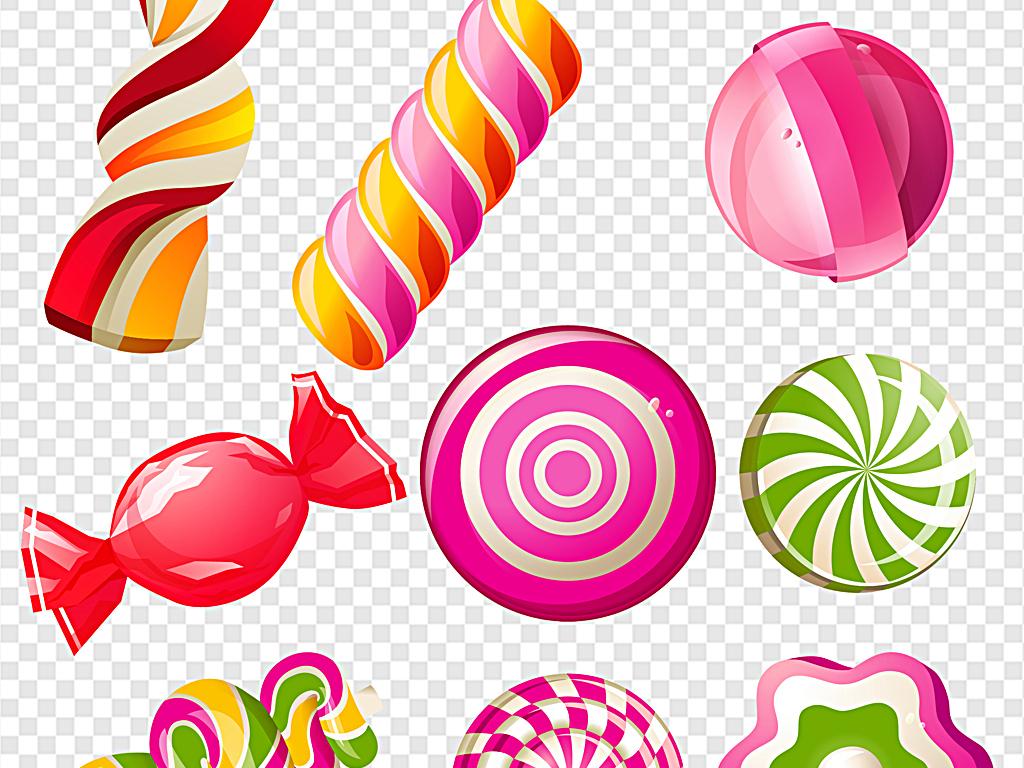 糖果包装                                  手绘糖果