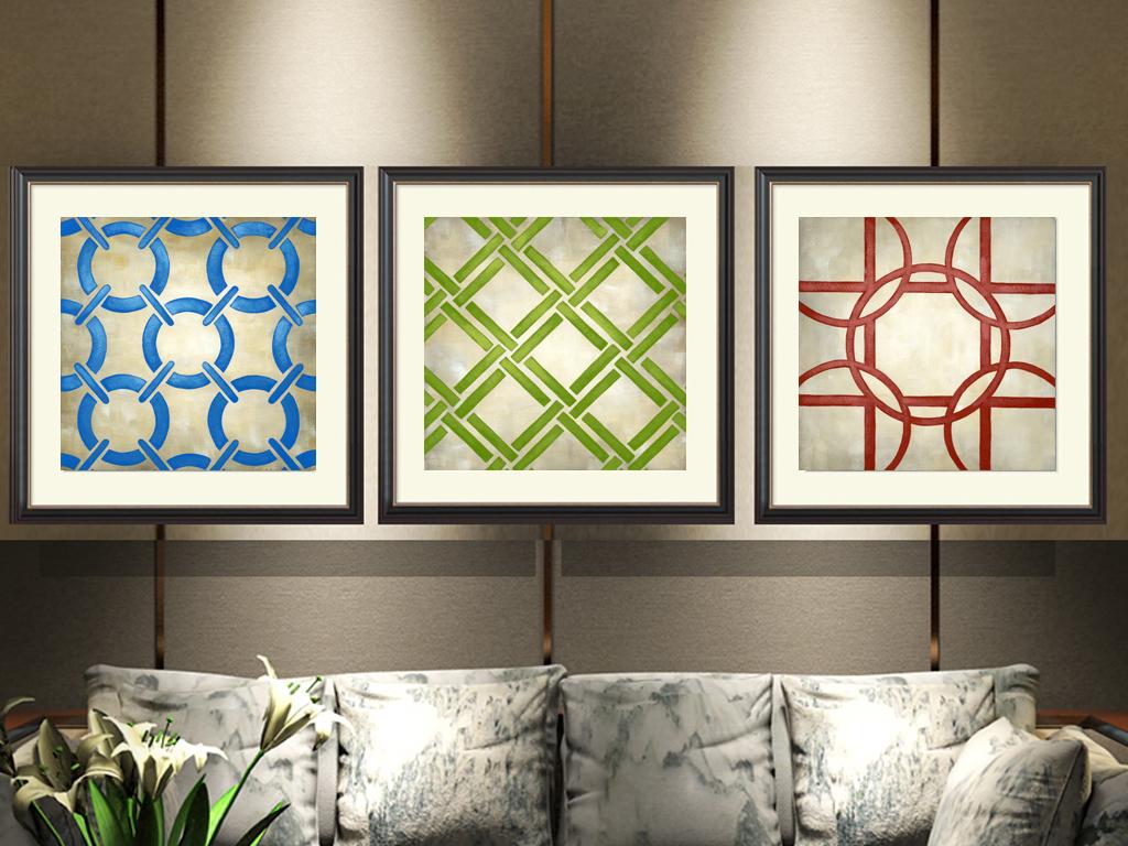 有框画无框画极简餐厅挂画卧室画抽象创意单幅装饰画咖啡图片