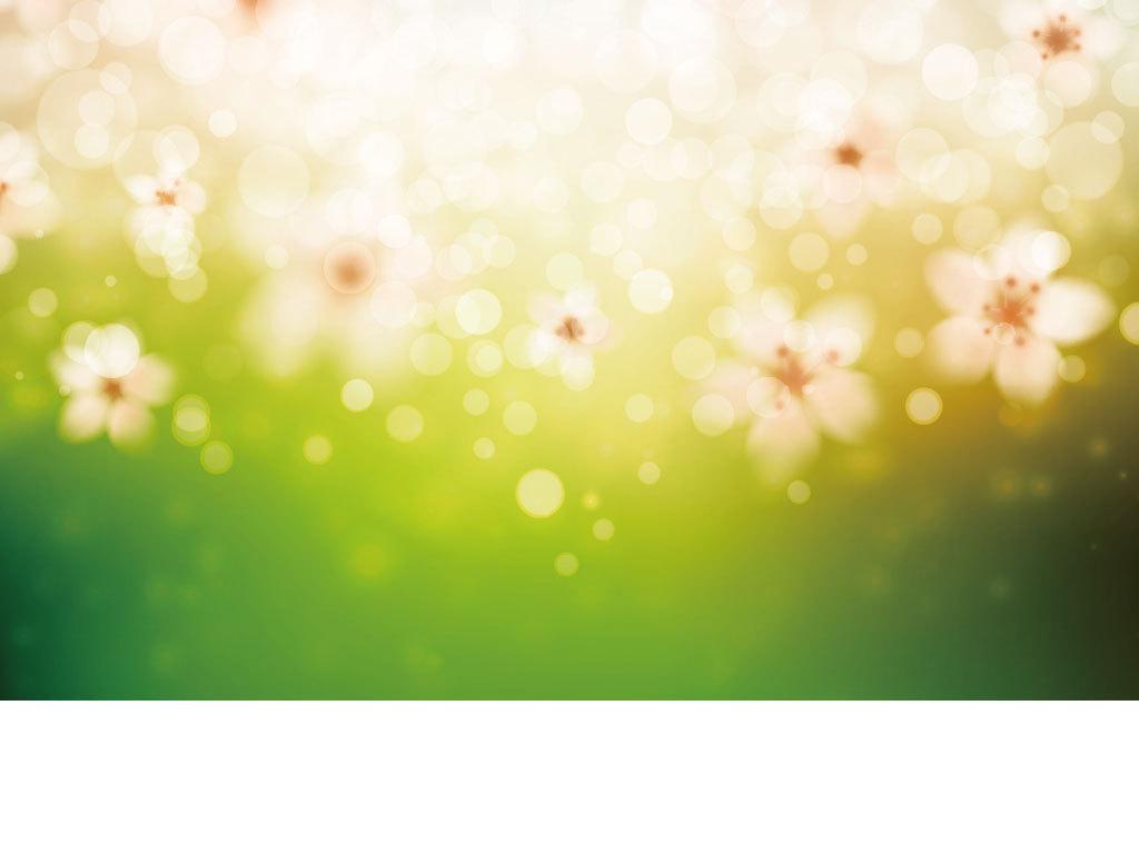 时尚卡通鲜花树叶花朵背景图素材下载,作品模板源文件可以编辑替换,设
