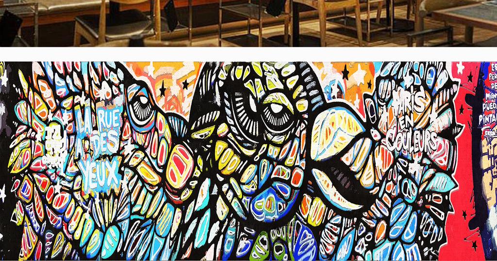 涂鸦涂鸦墙模板街舞涂鸦墙手绘墙涂鸦墙绘涂鸦街头图片