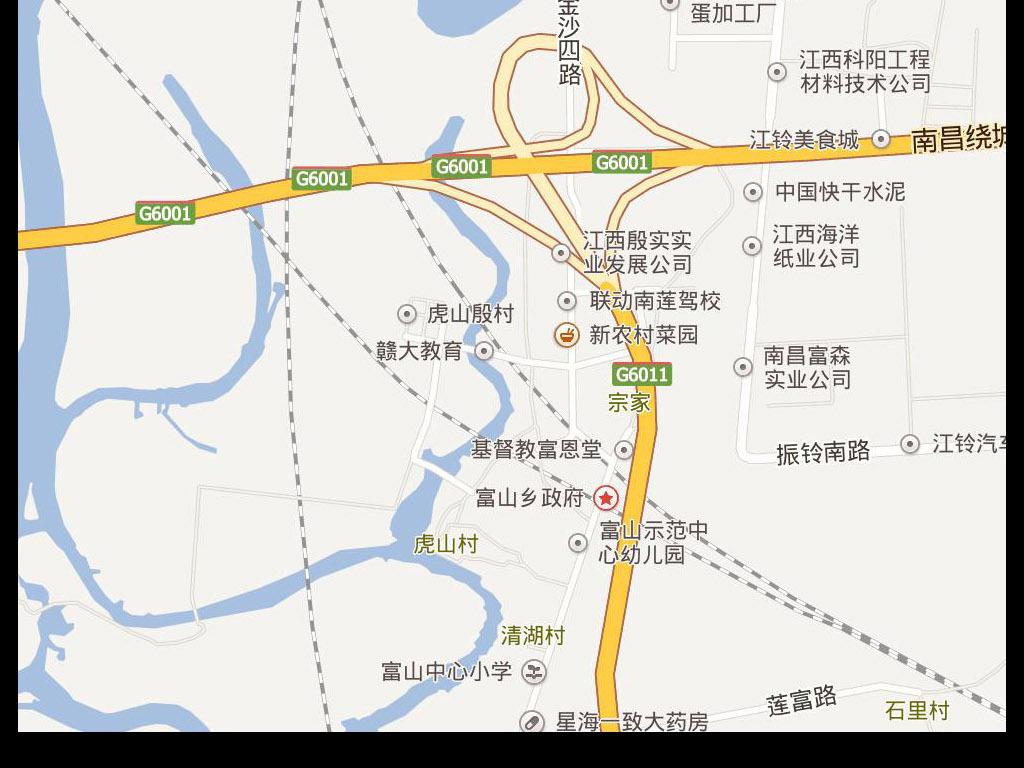 2017南昌市电子地图图片下载