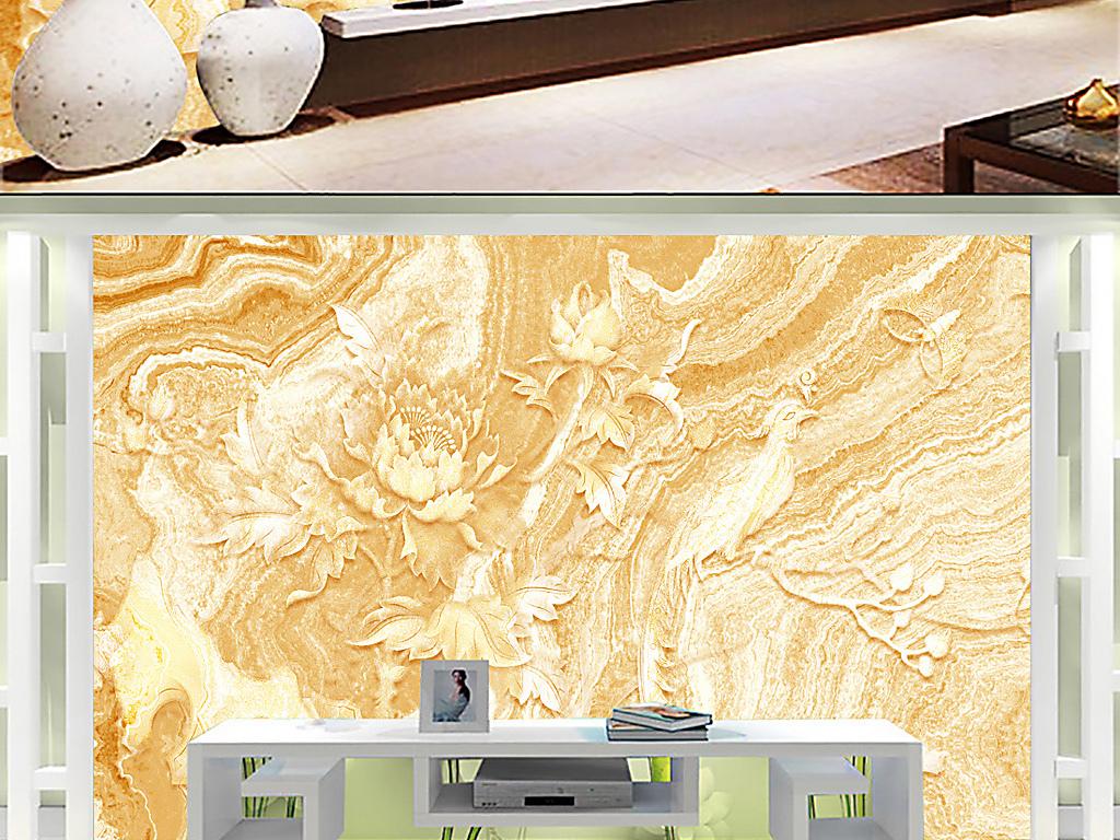 设计作品简介: 大理石纹理背景墙电视背景墙装饰背景