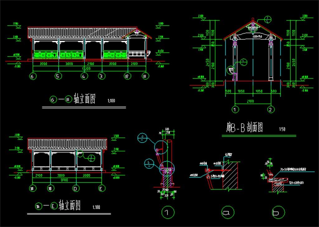 图纸殿阁cad皇宫建筑设计cad中式建筑图纸古殿古建筑施工古建筑cad
